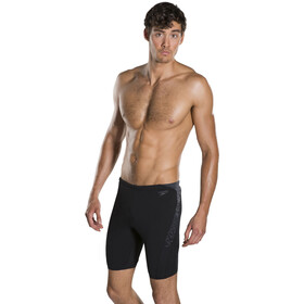 speedo Boom Splice Jammers Heren, black/oxid grey